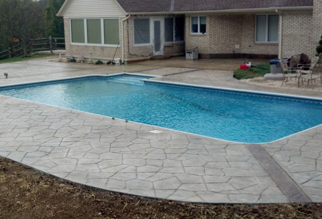 Concrete Pool Decks Photo Gallery Fair Gallery  Concrete Company In Ohio
